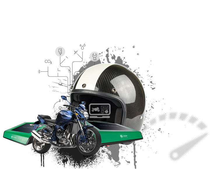 Power packages for motorcycles