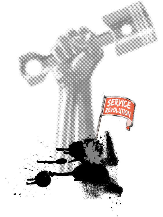 Start the service revolution!